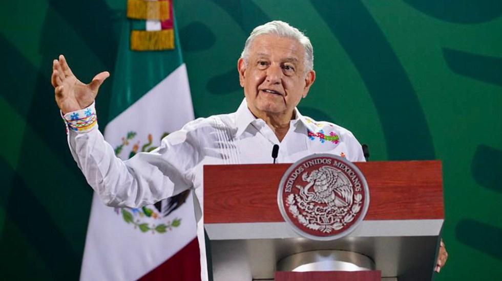 López Obrador puede declinar invitación al Senado: Sánchez Cordero - López Obrador en conferencia de prensa