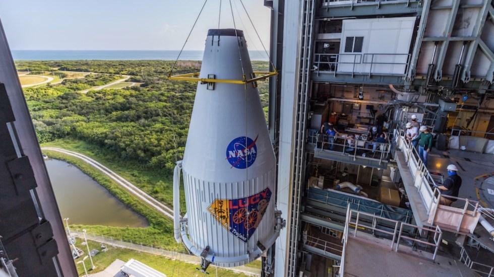 #Video Lucy, la nave que la NASA enviará a estudiar asteroides - #Video Lucy, la nave que la NASA enviará a estudiar asteroides. Foto de @ulalaunch