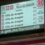 Retrasos en Línea 6 del Metrobús provocan afectaciones en la zona de Martín Carrera