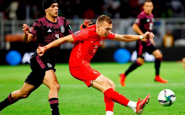 México empata a un gol con Canadá y pierde liderato de la Concacaf - México Canadá Concacaf partido futbol