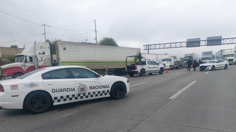 Reabren autopista México-Querétaro; logran controlar fuga de gas - Foto de @GN_Carreteras