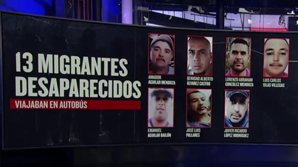 Desaparecen 13 migrantes en Chihuahua; buscaban llegar a EE.UU. - Migrantes desaparecidos en Chihuahua