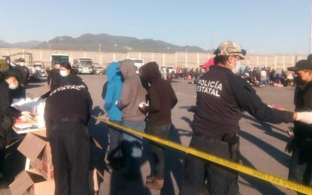 Interceptan a 652 migrantes, 355 de ellos menores, en Tamaulipas - migrantes Tamaulipas Hidalgo carretera