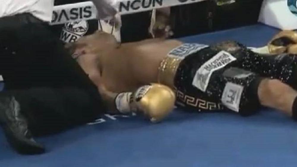 Tras nocaut, operan a boxeador Moisés Fuentes por coágulo en el cerebro - Moises Fuentes boxeador