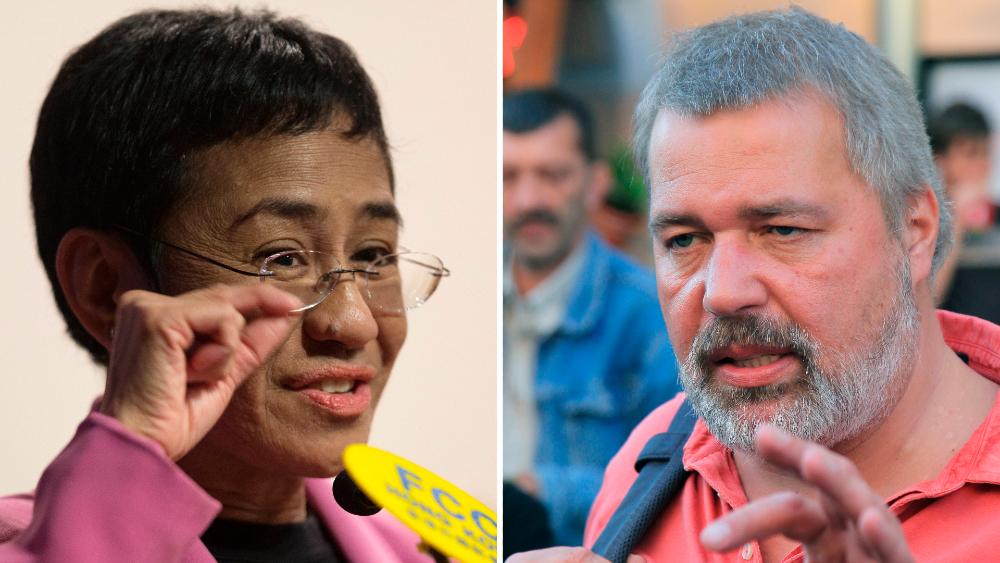Nobel de la Paz para periodista filipina Maria Ressa y ruso Dmitry Muratov - Nobel de la Paz 2021 María Ressa Dmitry Muratov