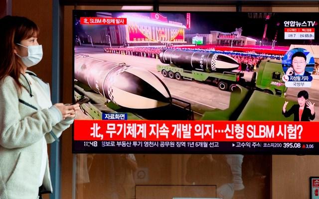 """Estados Unidos pide a Corea del Norte evitar """"provocaciones"""" tras lanzamiento de misil - Noticia en Corea del Sur sobre el lanzamiento de un misil balístico en Core del Norte"""