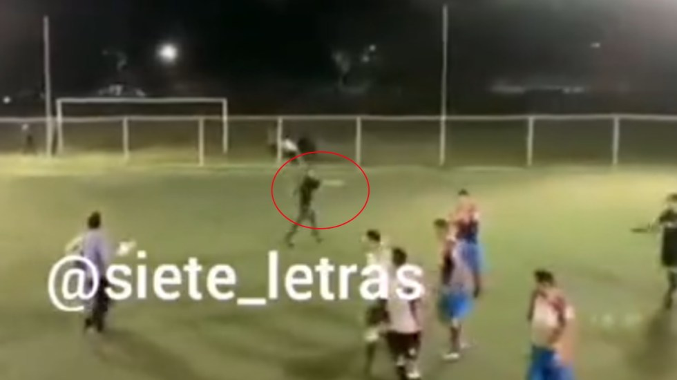 Partido de futbol 7 en Azcapotzalco termina a balazos - Partido Futbol 7 Azcapotzalco