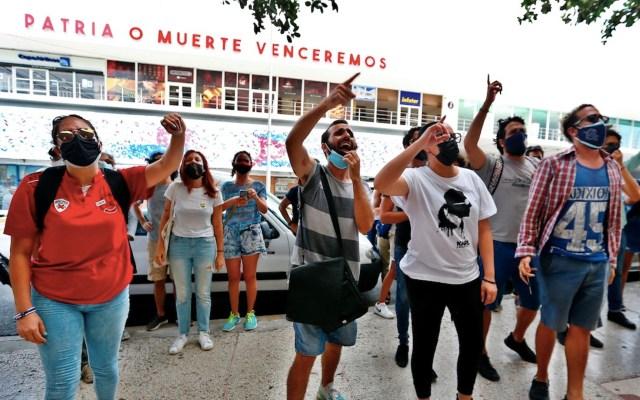 HRW presentará informe sobre la represión de protestas en Cuba - HRW presentará informe sobre la represión de protestas en Cuba. Foto de EFE