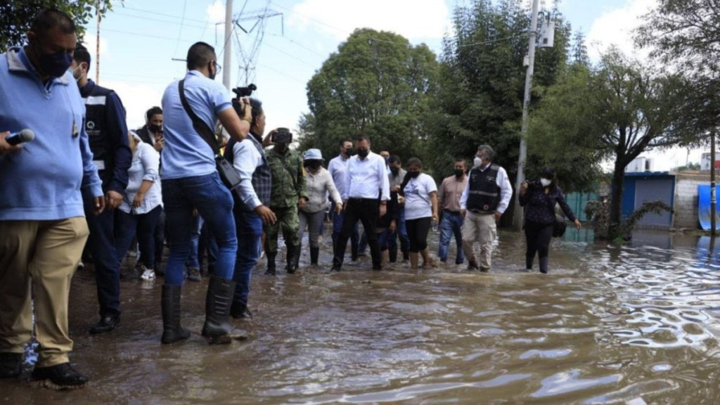 Este martes inicia censo para damnificados por inundaciones en SJR - Querétaro censo lluvias daños inundaciones san juan del río