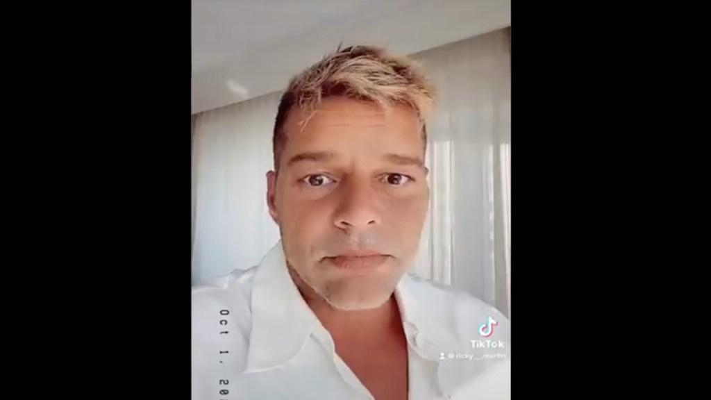 #Video Ricky Martin asegura que no se ha hecho retoques faciales - #Video Ricky Martin asegura que no se ha hecho retoques faciales. Foto tomada de video