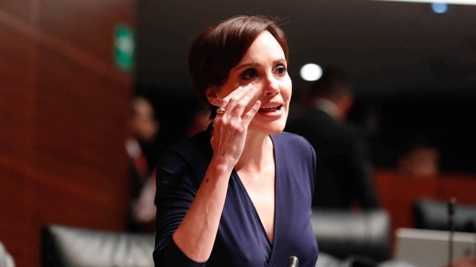 Gobierno de México protegerá a hijo de Lilly Téllez tras amenazas - Senadora Lilly Téllez