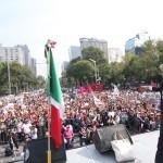 01 dic 2012 AMLO-Ángel de la Independencia 7