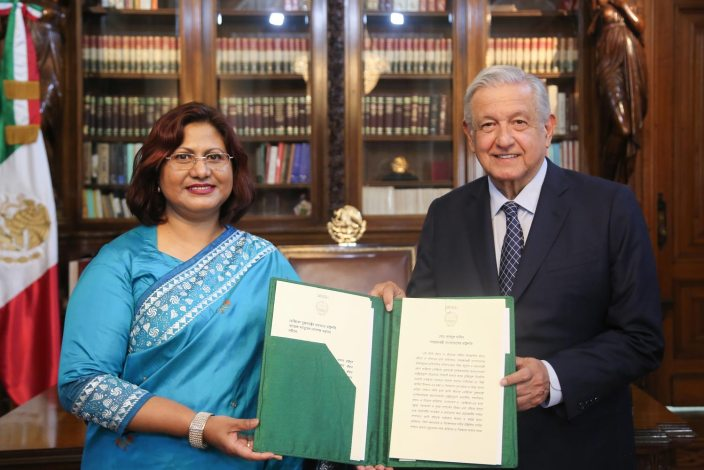 Abida Islam, embajadora de Bangadesh