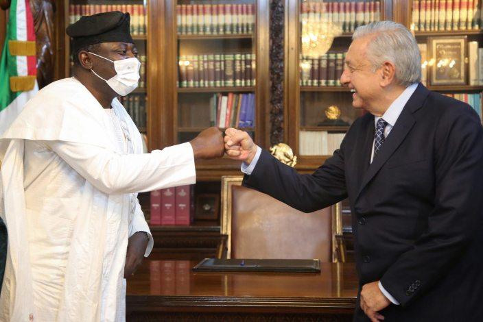 Rafiu Adejare Bello, embajador de Nigeria