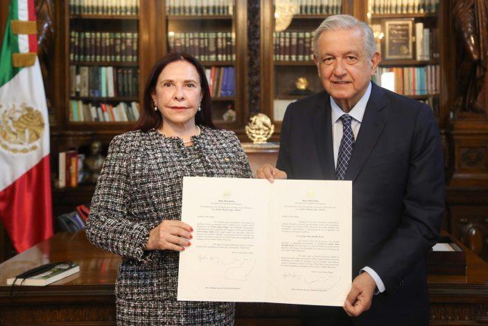 Gloria Yrma Amarilla Acosta, embajadora de Paraguay