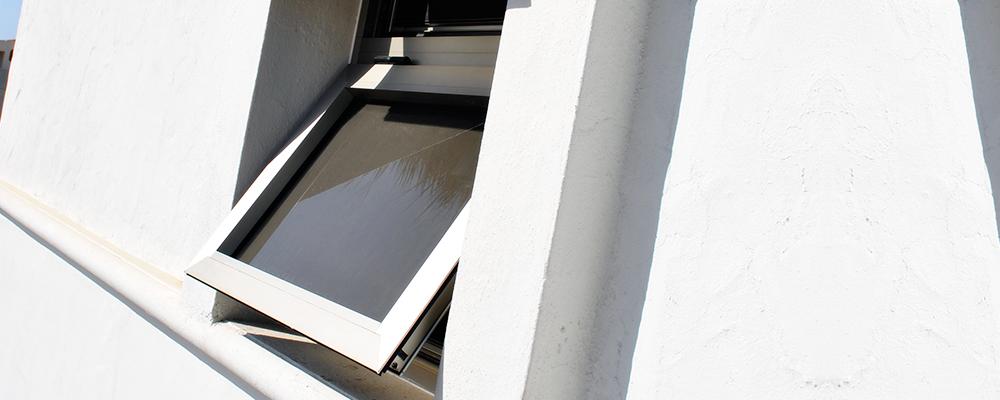 Ventanas de Proyeccin de Aluminio