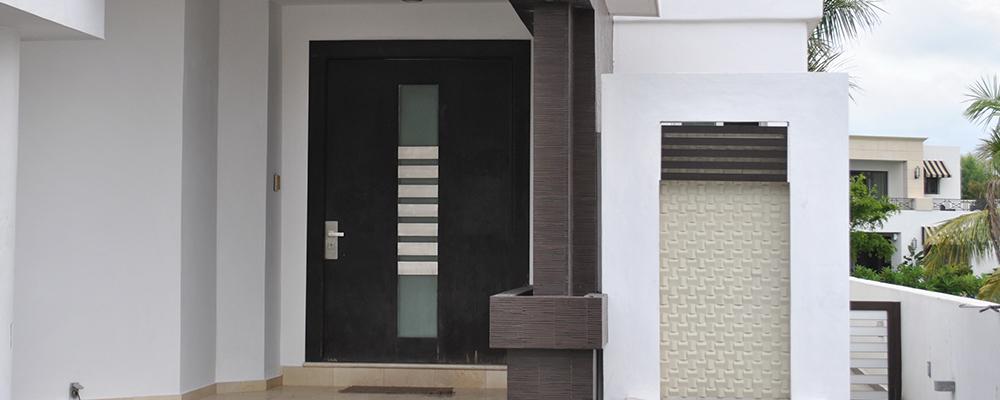 Puertas Residenciales de Aluminio