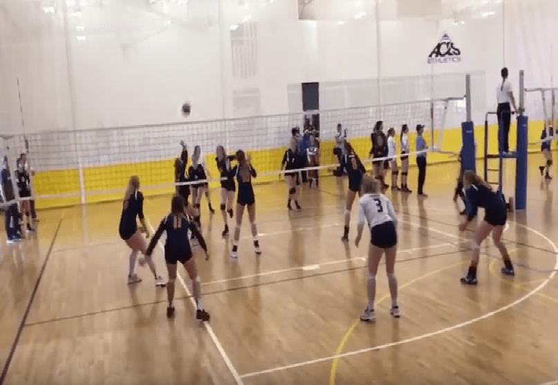 アメリカ女子U17チームの試合動画