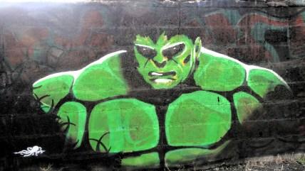 Street-art rue de Guyane-Nantes