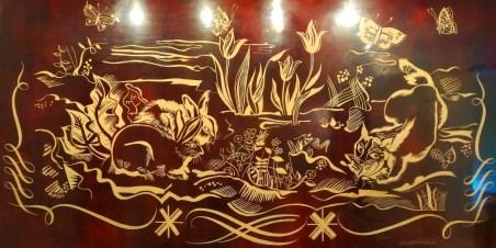 Escal' Atlantic-Laque gravée et peinte sur bois JM Rotshild & PE Sain-1935-©CuriousCat-