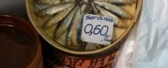 Cocina para vagonetas: sardinas viejas