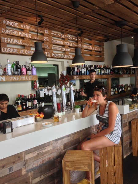 Amita Suances El bar renovado y el men ocultado  Lo