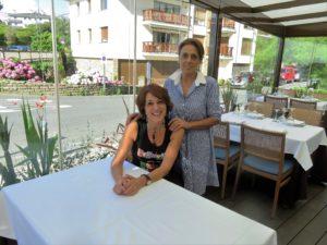 Sorkunde y Gotzone Longarai, en Gotzon (foto: Cuchillo)