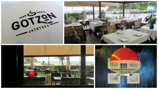 Detalles del interior del restaurante Gotzon (fotos: Cuchillo)