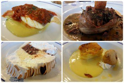 Otros cuatro platos del Bikaiko Txakolina Forum (fotos: Cuchillo)