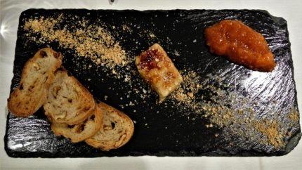 Foie de pato al aroma de vermú y naranja, en Mugarra (foto: CuchilloI
