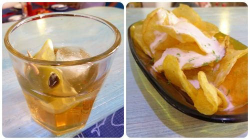 Vermú y patatas, aperitivo en El Baret de Miquel Ruiz (fotos: Cuchillo)