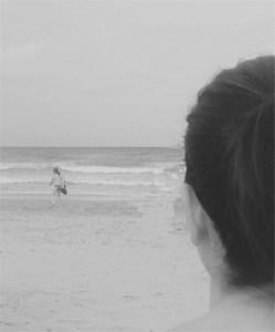 En la playa de San Juan