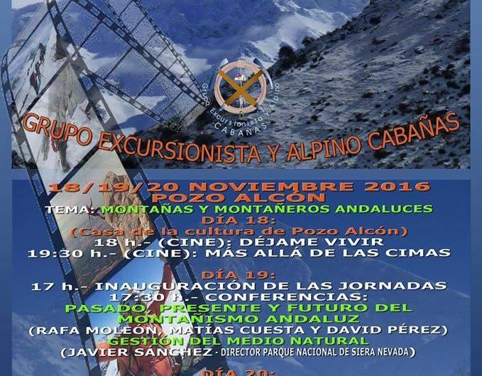 Este fin de semana se celebra las II jornadas de montaña y cine