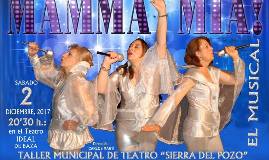 El Taller de Teatro colabora con AECC-Baza interpretando «Mamma Mia»