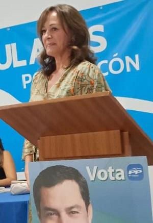 María del Carmen Salvador, nueva presidenta local del PP de Pozo Alcón