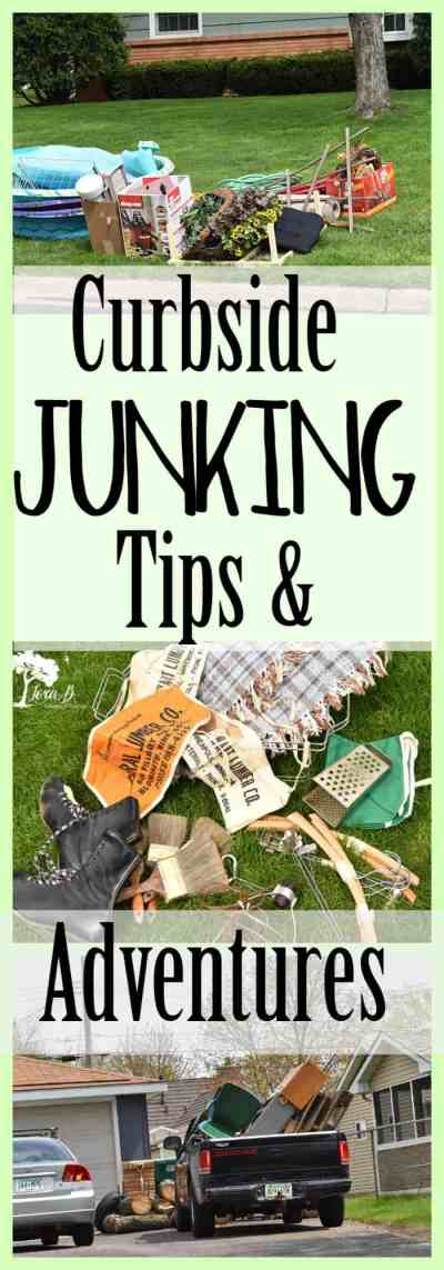 Curbside Junking Tips and Adventures