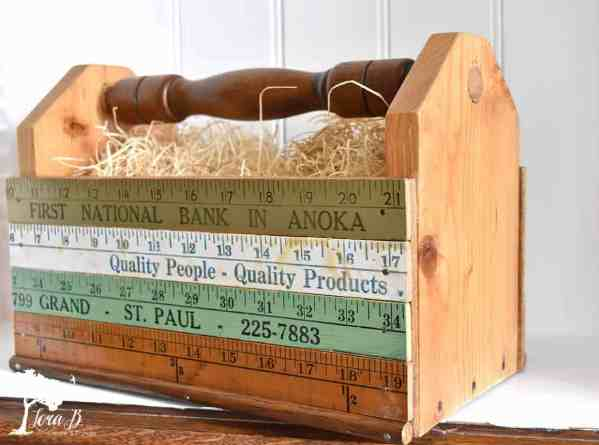 yardstick tool caddy
