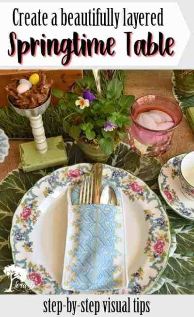 Springtime Table Ideas