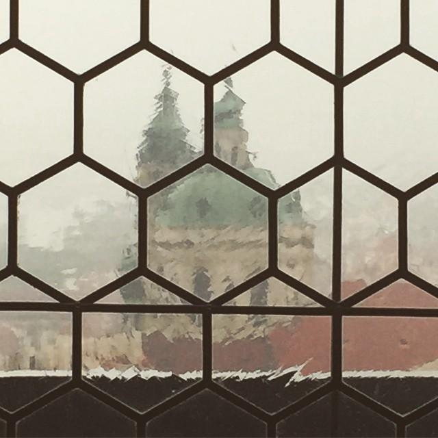 rainy prague