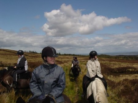 That time I crossed Ireland on horseback and told myself I'd figure out the cross country jumps when i got to them.