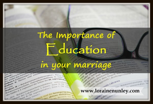 Importance Of Education In Marriage Loraine