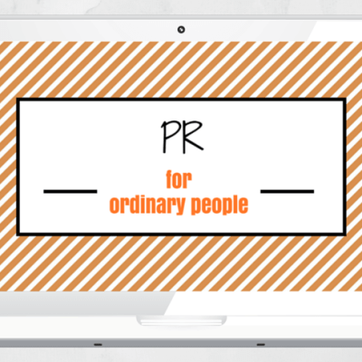 Laptop- PR for ordinary people