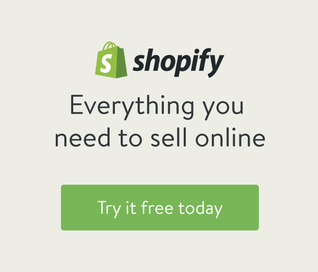 Shopify - try it free