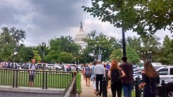 walking to Capitol