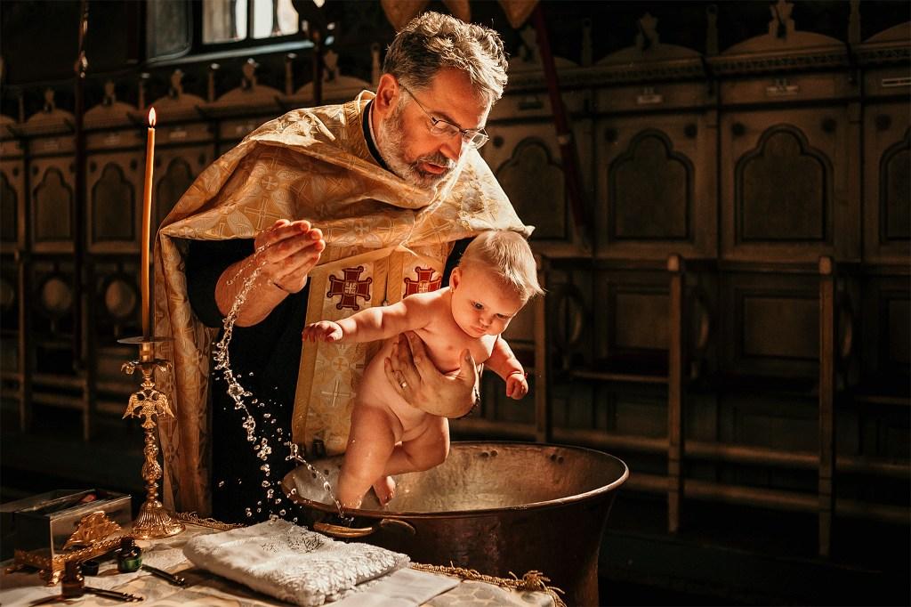 Fotograf botez lorandquest timisoara romania foto biserica