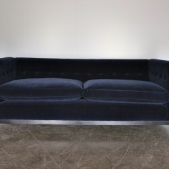 Kingcome Sofa Sale Sleeper Small Room Pair Of Brompton Sofas In Ralph Lauren Velvet Made By George Smith Craftsmen