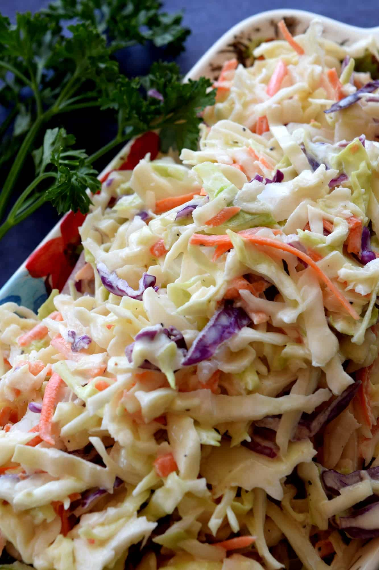 Homestyle Creamy Coleslaw  Lord Byron's Kitchen
