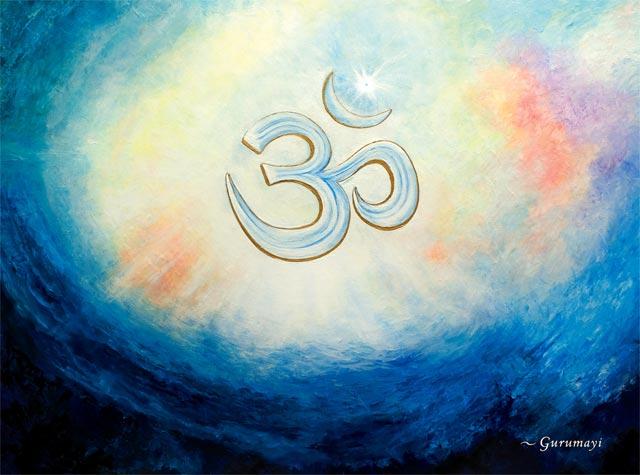 the sanskrit sound, Om -- the primordial mantra