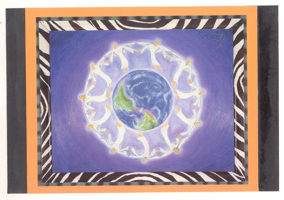 Heal The World Mandala