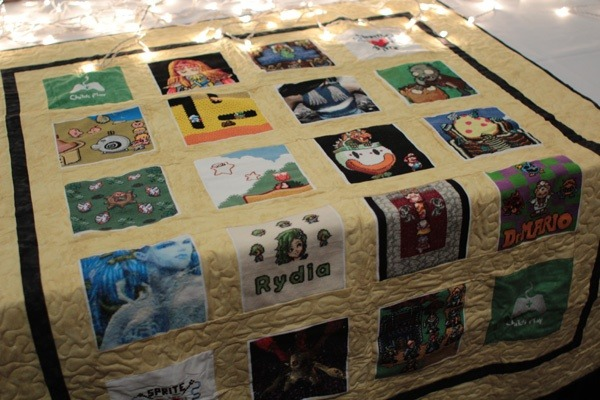 childs play charity auction cross stitch quilt 2011